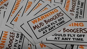 Mud Boogers Sticker